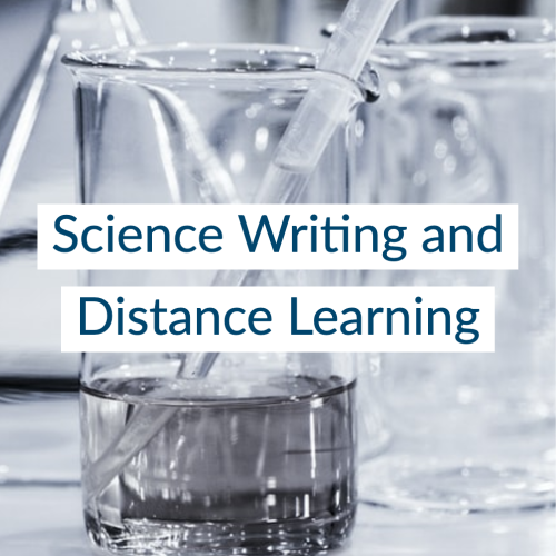Science Writing and Distance Learning